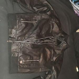 CK moto jacket EUC